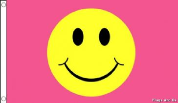 Smiley Face Pink